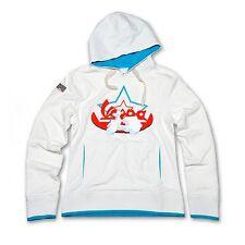 Vespa Donna Star Felpa Con Cappuccio Bianco con Logo Nuovo Prezzo Consigliato £ 79.99!!! 605728M0