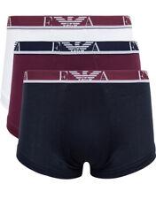 3 Boxer Emporio Armani 3 Boxer Underwear % 3 Pack Uomo Blu 1113577A715-48610