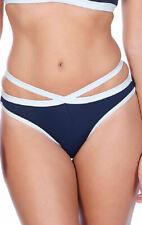 Freya In The Navy Figi Italini Bikini Brief 3862 Bottoms Swimwear - Marine