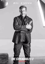 Cartel De Cine Los Indestructibles 3 el-Mel Gibson-opción 10-A4 y A3