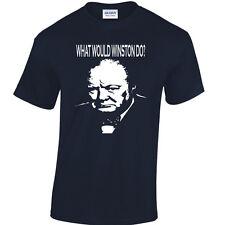 Winston Churchill Patrimonio Camiseta tories político ICON Gran Británico