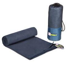 Extra Large Beach Bath Towel With Carry Bag Quick Dry Microfibre 150cm x 200cm