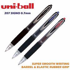 1 x uni-ball 207 Stylo à bille (0.7mm moyen) black-blue-red-smooth écriture