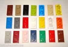 LEGO x10 PIASTRE PIATTE BORCHIE 2x1-più variazioni! Parte NR - 3023/6225