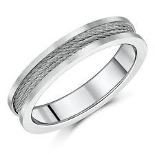 5mm Titanium Steel Cable Ring