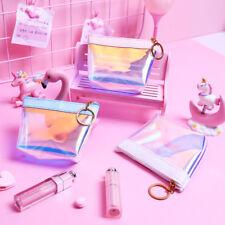 Women Colorful Makeup Laser Bag Mini Purse Wallet Holographic Clutch Fashion Hot