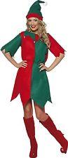 Smiffy's Elf Costume, Ladies Tunic