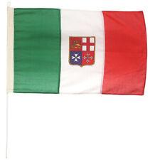 BANDIERA ITALIA MERCANTILE IN STAMINA DI POLIESTERE 100% - 145GR/MQ