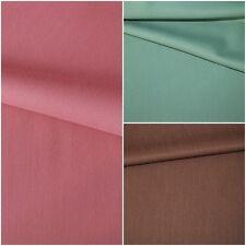 Hosenstoff aus Wollmischung 3 Farben: ALTROSA TÜRKIS BRAUN #0395