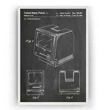 First Macintosh Computer Patent Print Poster Science Art Decor Gift - Unframed