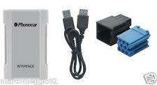 Interfaccia audio iPOD-iPHONE-USB-SD-MP3 CD Changer Connection Audi-Seat-Skoda-V