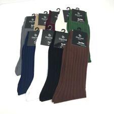 Darnel Men's Dress Socks Assorted Colors Shoe Size 10-13 Mid-Calf Length