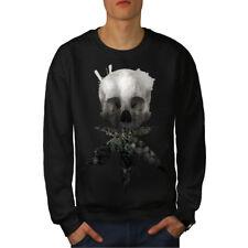 Skull Cannabis Pot Rasta Men Sweatshirt NEW | Wellcoda