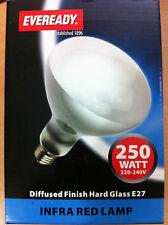 250w ES E27 Screw In Heat Lamp / Bulb Infrared New