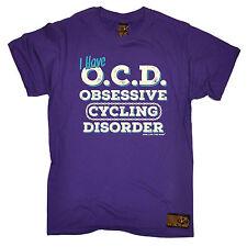 OCD Obsessive Cycling Disorder T-SHIRT Cyclist Bike Jersey Christmas fashion gif