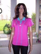 Adidas Barricade Shirt T Shirt Sportshirt pink rosa ClimaCool Kurzarm 34 36 neu