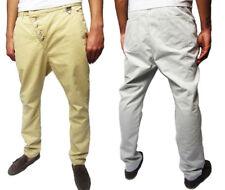 Eleven Paris Hombre inclinada bragueta de botones pantalones