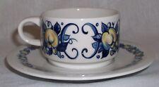 Villeroy & Boch CADIZ espresso cup and saucer EXCELLENT - retro / vintage