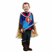 Bambini Ragazzi Medievale delle Fiabe Il Principe Azzurro Cavaliere Costume Libro Giorno Costume