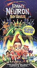 Jimmy Neutron: Boy Genius (VHS, 2002, Clam Shell)