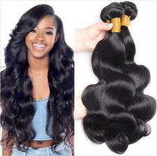 Malaysian Body Wave Hair Extensions Virgin Human Hair Weft 3 Bundles/300G US