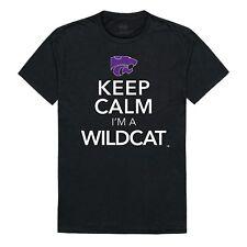 Kansas State University Wildcats NCAA College Cotton Keep Calm T-Shirt S-2XL