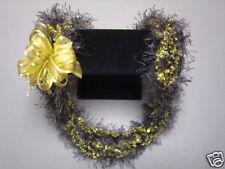 Hawaiian Eyelash Bud Yarn Crochet Lei Gift Sage Yellow