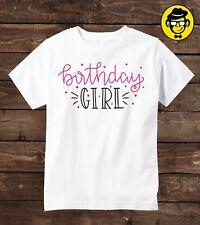 Birthday Girl shirt, Girl Birthday shirt, Birthday t-shirt