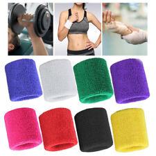 Wristbands Sport Sweatband Hand Band Sweat Wrist Support Brace Wraps Guards