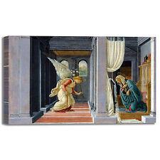 Botticelli annunciazione II design quadro stampa tela dipinto telaio arredo casa
