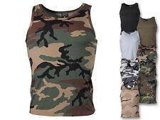 MFH US Tank Top Tanktop Shirt Muscleshirt Muskelshirt Ärmellos S-3XL