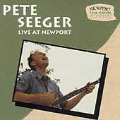 PETE SEEGER Live At Newport Folk Festival CD 1963-1965 Vanguard Pete Seger