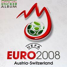 Panini EM UEFA EURO 2008 08 DISPLAY BOX TÜTEN STICKER ALBUM KOMPLETTSATZ UPDATES