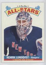 2012 O-Pee-Chee All-Stars Wrapper Redemption #AS-15 Henrik Lundqvist Hockey Card