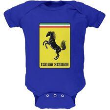 Italian Stallion Royal Soft Baby One Piece