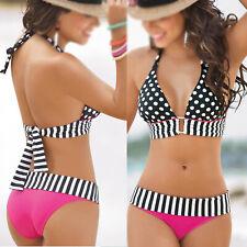 Swimwear bikini fascia push-up Reggiseno imbottito costume da bagno Beachwe A3Q4