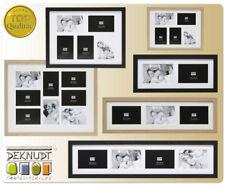 S66K Galerie Holz Bilderrahmen 10x15 bis 15x20 Collage mit Passepartout Foto