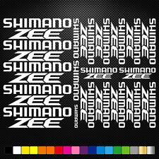 Shimano Zee Vinyl Decal Stickers Sheet Bike Frame Cycles Cycling Bicycle Mtb