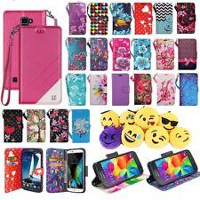 For LG X Power 2 / LG Fiesta LTE / LG K10 Power / LG LV7 Wallet Case Folio Flip