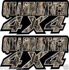 QuadRunner 4x4 Camo Gas Tank Graphics Decal Sticker Atv Quad Runner 400 500 250