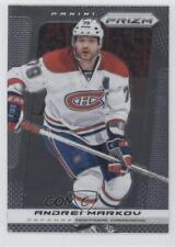 2013-14 Panini Prizm #44 Andrei Markov Montreal Canadiens Hockey Card