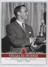 2008 Upper Deck Montreal Canadiens Centennial Set #269 Charlie Hodge Hockey Card