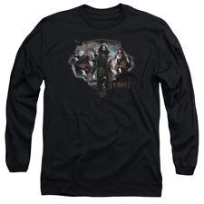 The Hobbit Three Dwarves Mens Long Sleeve Shirt