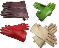 Damen Neu Premium Qualität Original Superweich Leder Handschuhe