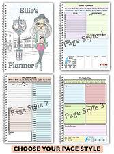 A5 Personalizzata DAILY planner / Organizer / Schedule / da fare: elenco planner / DIARIO