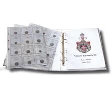 Masterphil Album Raccoglitore per monete REGNO VITTORIO EMANUELE III TIPOLOGICO