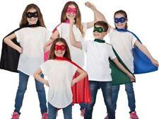 Super Hero Cape And Mask Set Girl Boy Superhero Fancy Dress Outfit