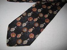 Boys 48 x 3 Black SILK Tie Necktie Jacobs Roberts ~ (1181) FREE US SHIP