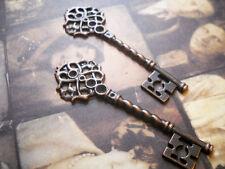 Skeleton Keys Wholesale Keys Key Pendants Key Charms Big Keys Copper Keys 5/10+