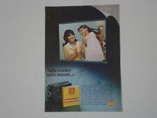 advertising Pubblicità 1968 CINEPRESA KODAK INSTAMATIC SUPER 8
